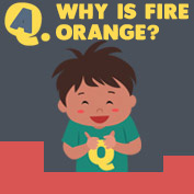 Why is Fire Orange? - hp
