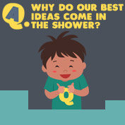 Why do our best ideas come in the Shower? - hp