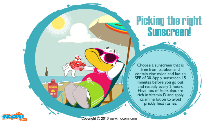 Picking the Right Sunscreen!
