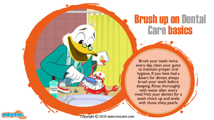 Brush up on Dental Care basics