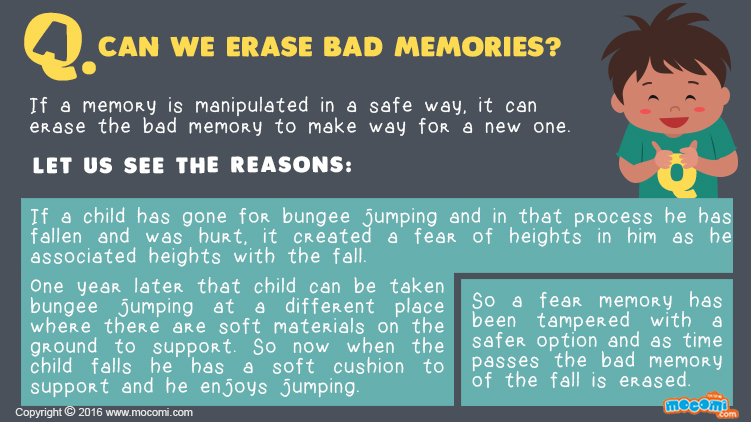 Can We Erase Bad Memories?