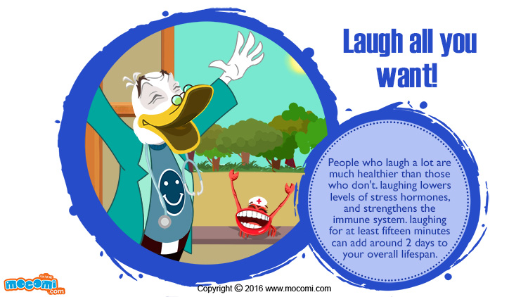 Laugh all you want!