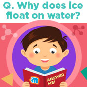 Why does ice Float - Hp