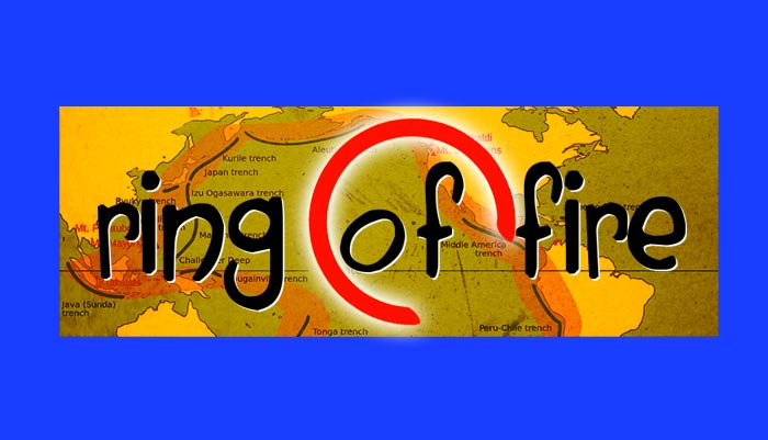 ring of fire worksheet pdf