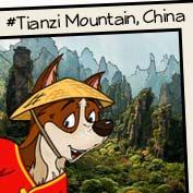 Tianzi Mountain, China - hp
