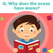 Why does the ocean have waves? - Square Thumbnails Image