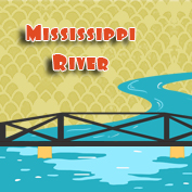 Mississippi River Information and History - Square Thumbnails Image