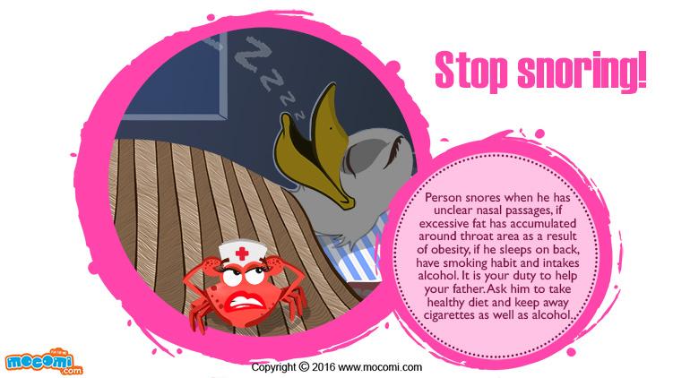 Stop Snoring!