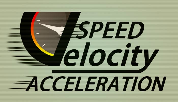 Speed, Velocity and Acceleration - Physics for Kids   Mocomi