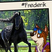 Frederik The Great Horse- Square Thumbnails Image