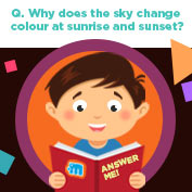 Why does the Sky Change Colors? - Square Thumbnails Image