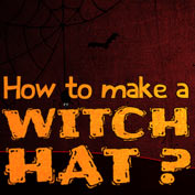 How to Make a Witch Hat?