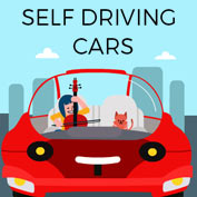 Self Driving Car - Square Thumbnails Image