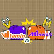 Vitamins and Minerals- Square Thumbnails Image