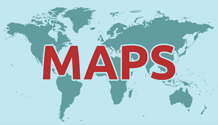 8 different types of maps geography for kids mocomi