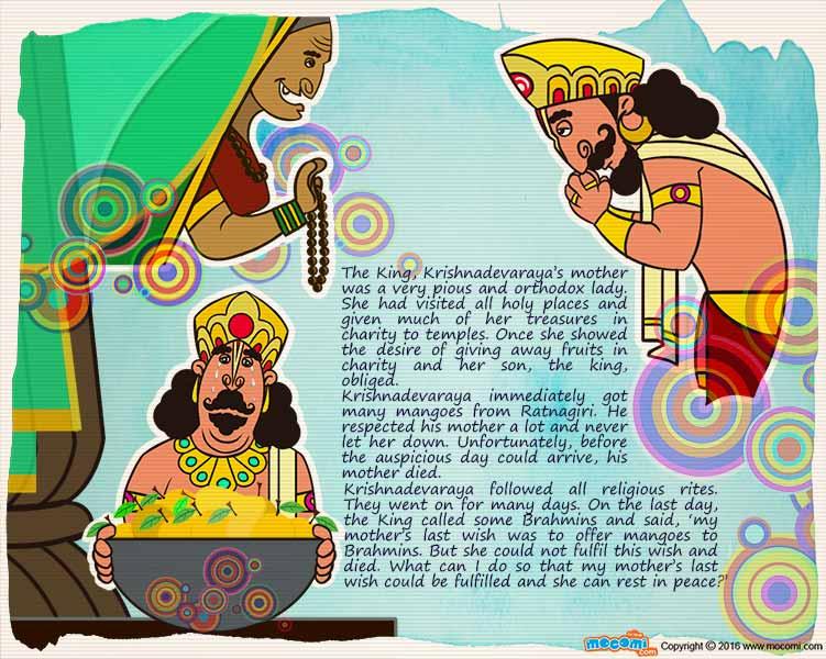 Thenali raman stories in english