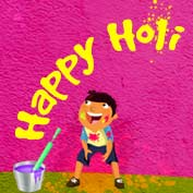 Happy Holi - 03- Square Thumbnails Image