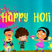 Happy Holi - 05- Square Thumbnails Image