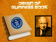 Origin of Guinness Book of World Records
