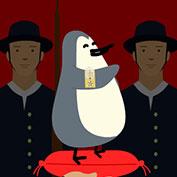 Penguin receives Norwegian Knighthood!