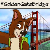 Golden Gate Bridge – Square Thumbnails Image