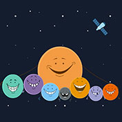 Seven earth like planets discovered orbiting nearby star!