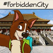 Forbidden City Beijing – Square Thumbnails Image
