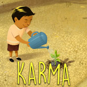 "What does ""Karma"" mean? – Square Thumbnails Image"