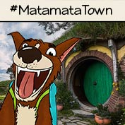 Matamata town- New Zealand – Square Thumbnails Image