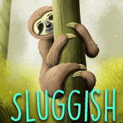 Sluggish meaning – Square Thumbnails Image