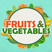 fruits and vegetables square thumbnail