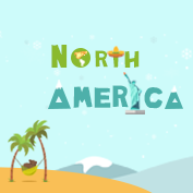 Facts about North America – Square Thumbnails