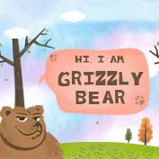 Grizzly Bear Facts and Information - Square Thumbnails