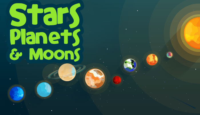 how are planets and moons different from stars - photo #31
