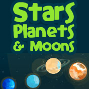 Difference between a star, planet and moon