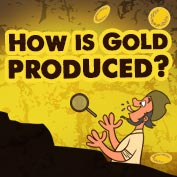How is gold formed?