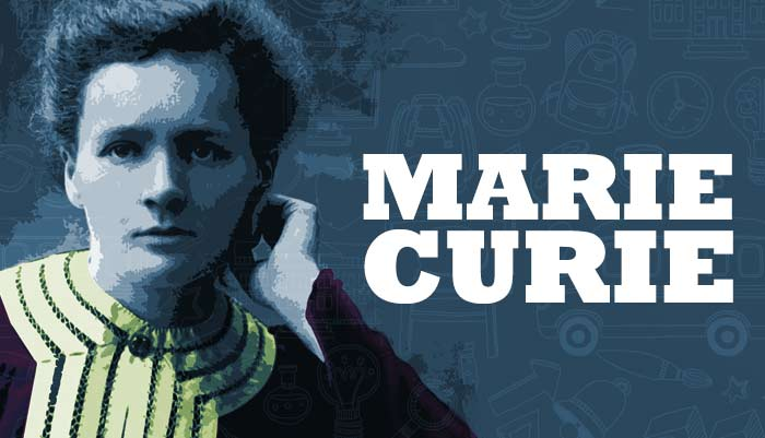 marie curie short summary