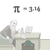 Who discovered Pi?