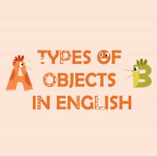 Types of Objects in English