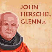 John Herschel Glenn Jr Biography