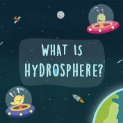 Major Domains of the Earth - Hydrosphere