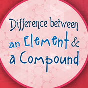 Difference between elements and compounds