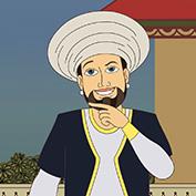 Mullah Nasruddin at Tea Shop