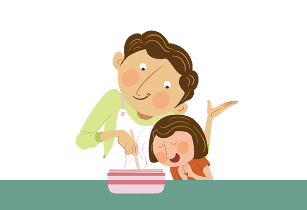 Healthy and easy to make recipes for both parents and kids blog page