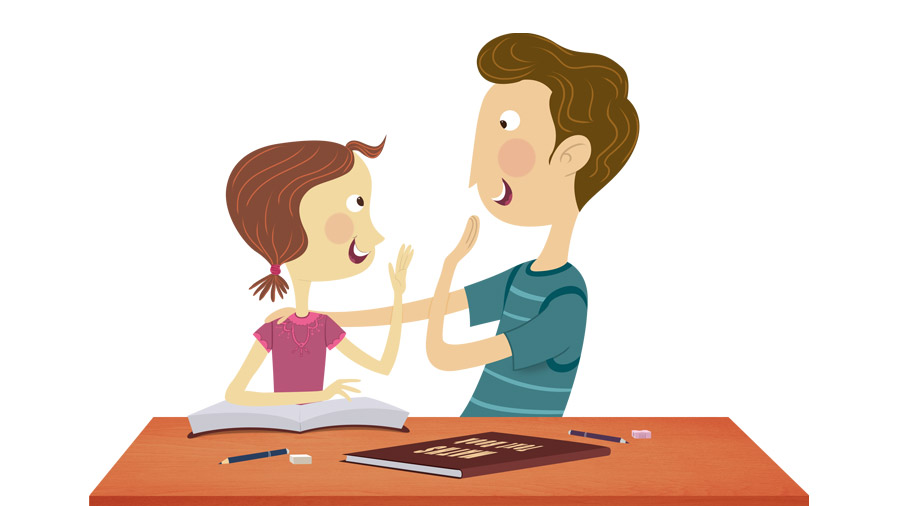 How to Talk to Your Child About Grades